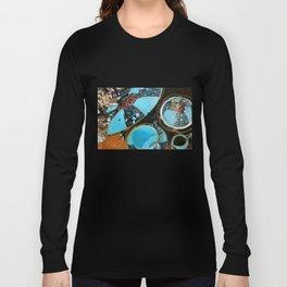Majolica and Hydrangea Long Sleeve T-shirt