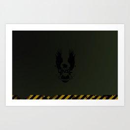 UNSC Hardcase - Laptop/iPad Skin Art Print