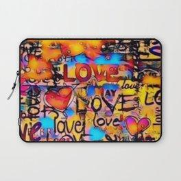 Graffiti Love Laptop Sleeve