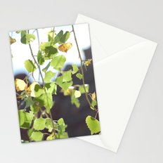 Red Rocks through Leaves Stationery Cards