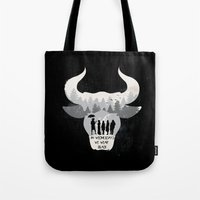 coven Tote Bags featuring Coven by Edwoody