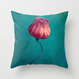 Miss Lampion Throw Pillow
