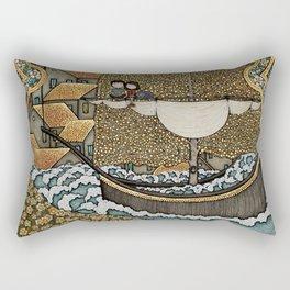 Taking on Water Rectangular Pillow