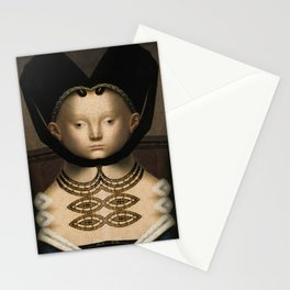 Grotesque Symmetry 6 Stationery Cards