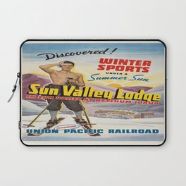 Vintage poster - Sun Valley, Idaho Laptop Sleeve