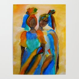 African Costumes Poster