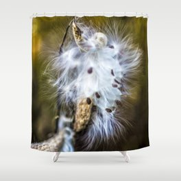 Rust_03 Shower Curtain