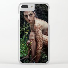 warlord nymph Clear iPhone Case