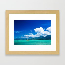 Kaneohe Bay Framed Art Print