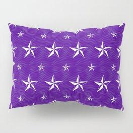 Stella Polaris Violet Design Pillow Sham