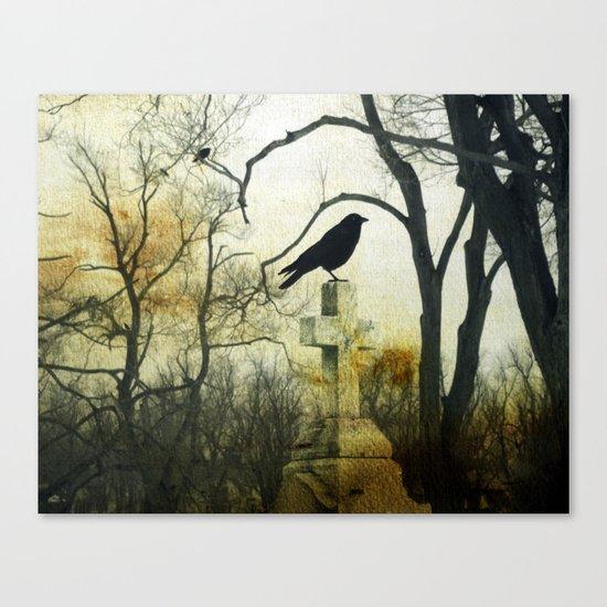 Cross Perch Canvas Print
