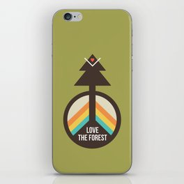 For the Love of the Forest iPhone Skin