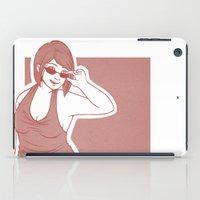 crowley iPad Cases featuring Fem!Crowley by Abbi Laura