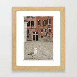 In my place Framed Art Print