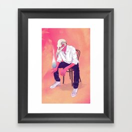 Nascentes Morimur Framed Art Print