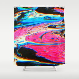 Bright Flow Shower Curtain