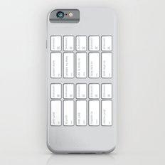 Ten Commands Slim Case iPhone 6s