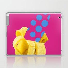 Banane mit Punkten Laptop & iPad Skin