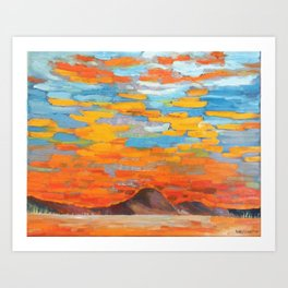 The Mountain 2015 Art Print