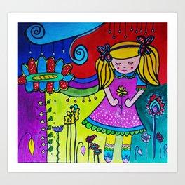Shilou Dreaming Art Print