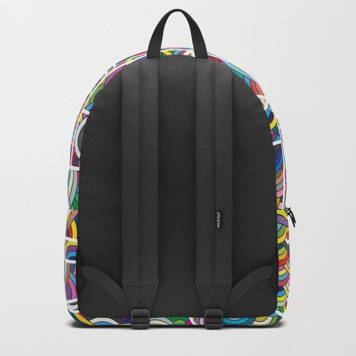 Kaku Technicolor Backpack