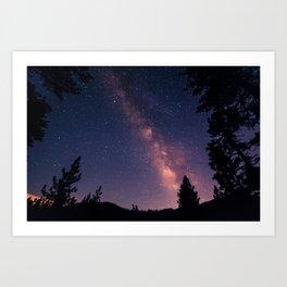 Milky Starbright Art Print