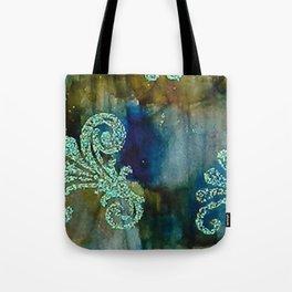 Crystal Fanfare Ink #5 Tote Bag