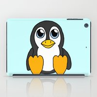 penguin iPad Cases featuring Penguin by BlackBlizzard