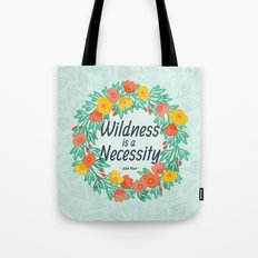 Floral Wildness Tote Bag