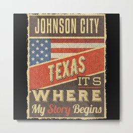 Johnson City Texas Metal Print