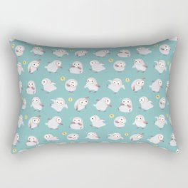 Baby Barn Owls Rectangular Pillow