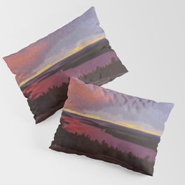 Mountaintop Landscape at Dawn by Hilding Werner Pillow Sham