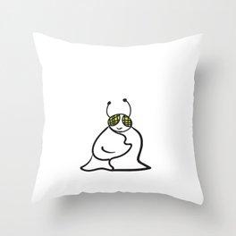 Snug as a Bug Idiom Throw Pillow