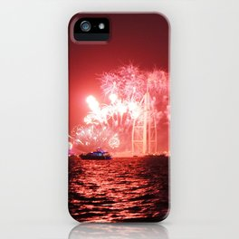 New Year's Eve at Burj Al Arab iPhone Case