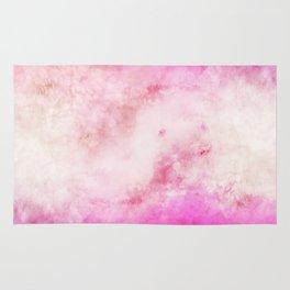Smoky watercolor creamy pink Rug