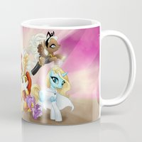 mlp Mugs featuring MLP X-Women by Kimball Gray