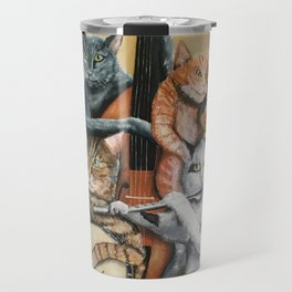Cat Quartet Travel Mug