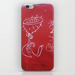 As aventuras da Perna Cabeluda iPhone Skin