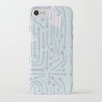 cycle iPhone & iPod Cases featuring Cycle by Lillian Cassidy