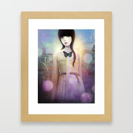 Sweet Secrets Framed Art Print