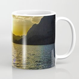 Sunset view in Muscat Oman Coffee Mug