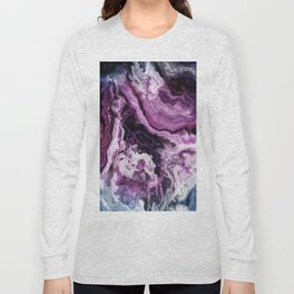 unique marble cv Long Sleeve T-shirt