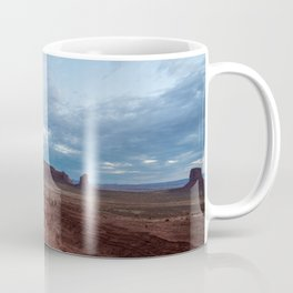 view from the mittens (monument valley) Coffee Mug