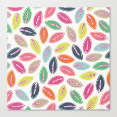 Bright Leaves Canvas Print