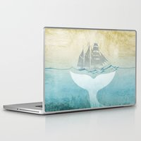 moby Laptop & iPad Skins featuring Moby by Vin Zzep