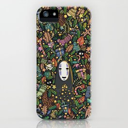 Kaonashi no-face christmas iPhone Case
