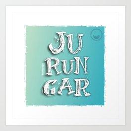 """Jurungar"" Art Print"