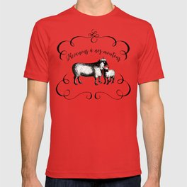 Back to Our Sheep T-shirt