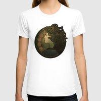 nouveau T-shirts featuring Medusa Nouveau by Megan Lara