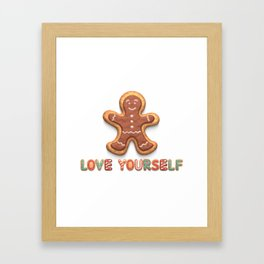 Love Yourself: BTS Christmas Cookies! Framed Art Print